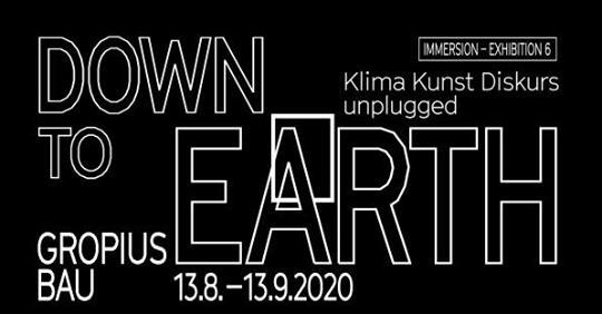 """Wie können wir den Modus, in dem wir arbeiten, uns ernähren, reisen oder Ausstellungen machen, nachhaltig verändern?""""Down to Earth"""" ist eine Ausstellung und zugleich ein Unplugged-Programm mit täglich wechselnden Live-Angeboten im Berliner Gropius Bau."""