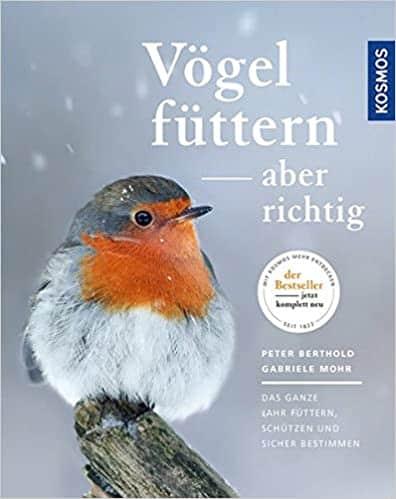 Das für mich beste Buch zur ganzjährigen Vogelfütterung vom führenden Ornithologen Professor Berthold.